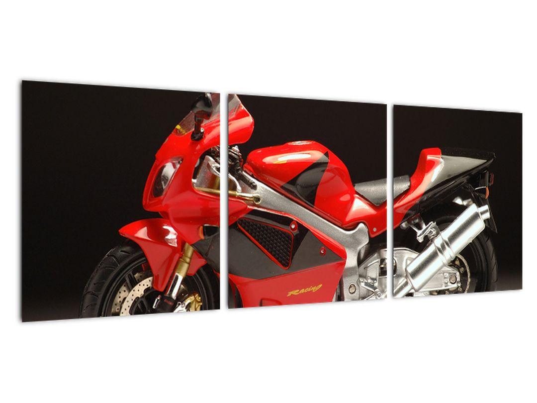 Obraz červené motorky