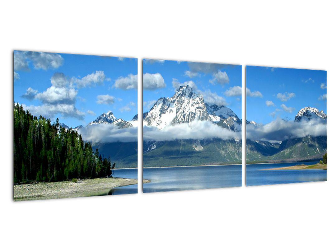 Obraz - zasnežené vrcholky hôr