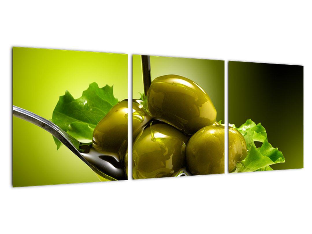 Obrazy do kuchyne - olivy
