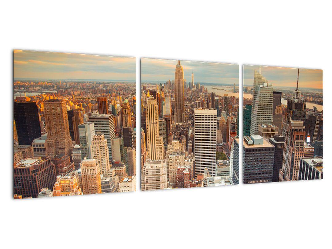 Moderný obraz do bytu - mrakodrapy