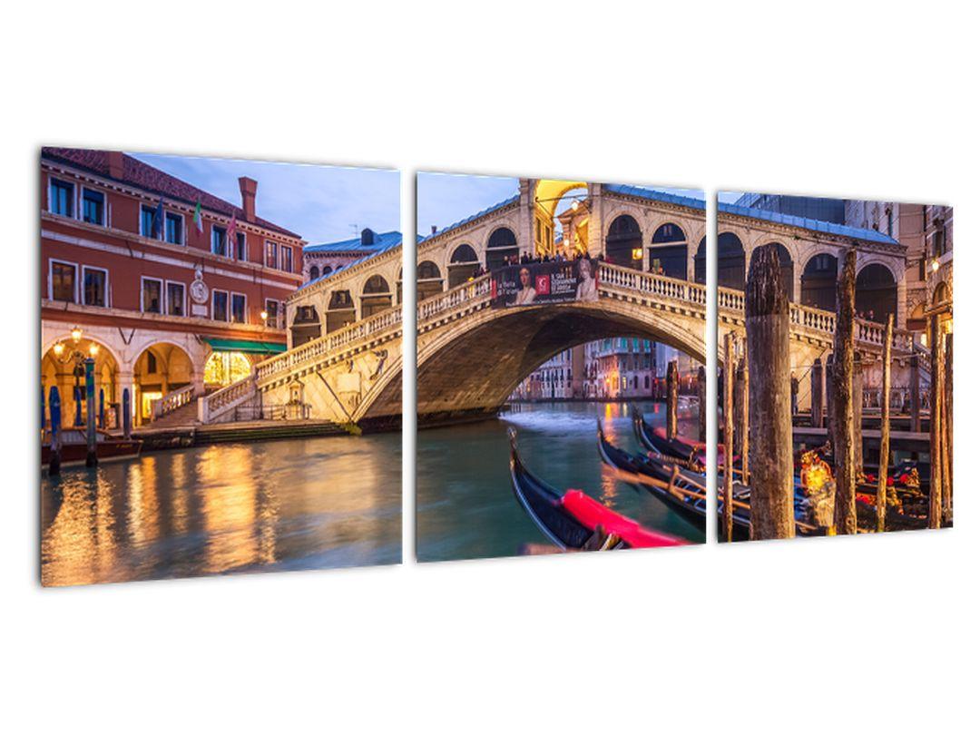 Obraz na stenu - most v Benátkach