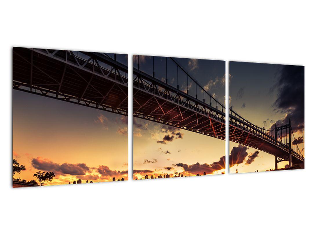 Moderný obraz mosta