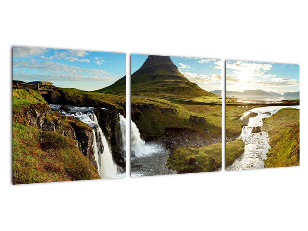 Moderný obraz - severská krajina