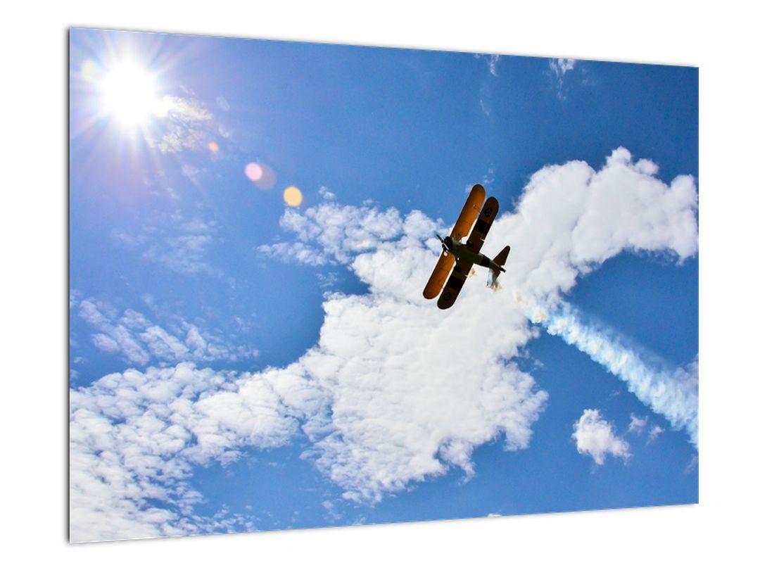 Obraz letiaceho lietadla