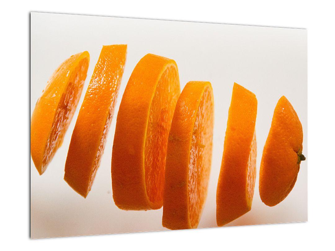 Moderný obraz - dieliky pomaranča
