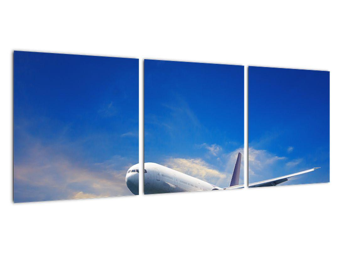Moderný obraz - lietadlo