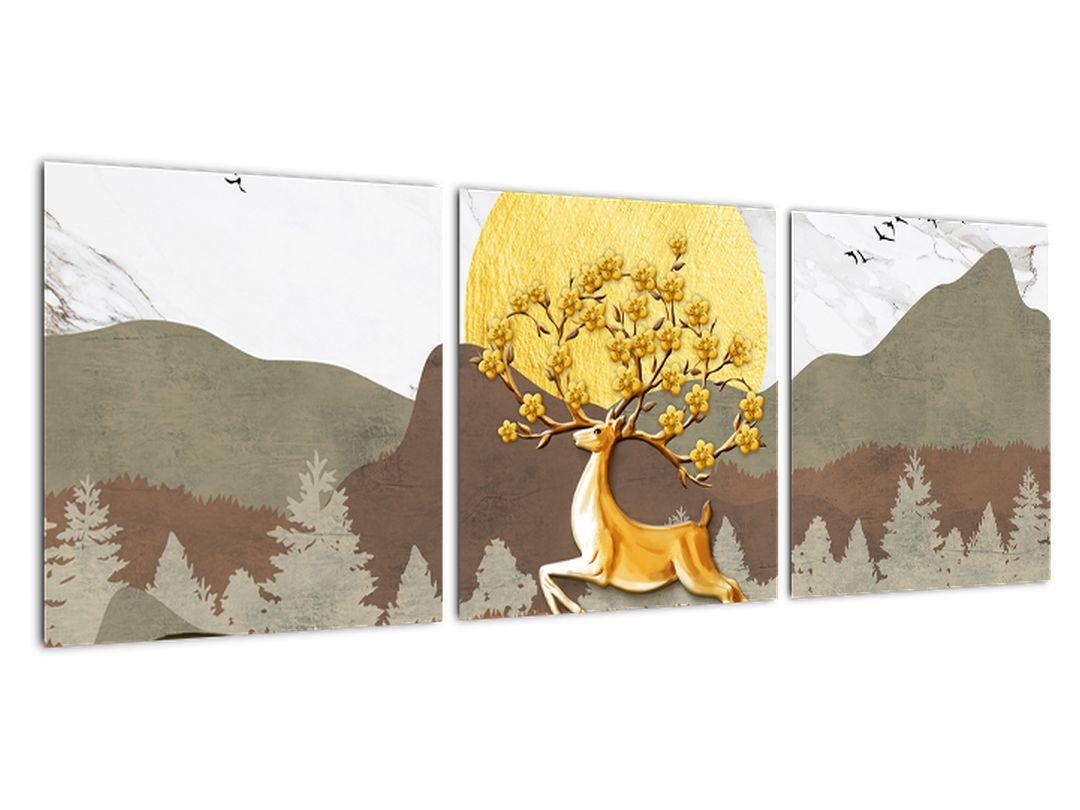 Abstraktný obraz - strom