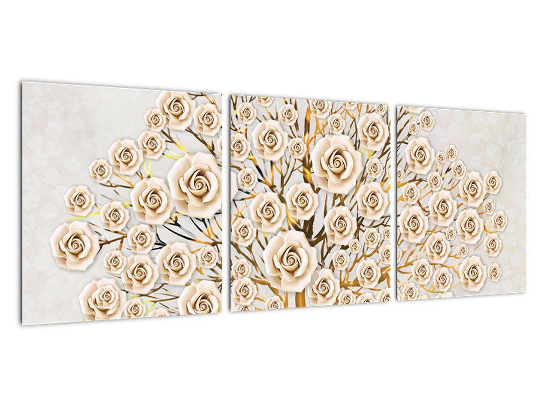 Zlatý strom - moderný obraz