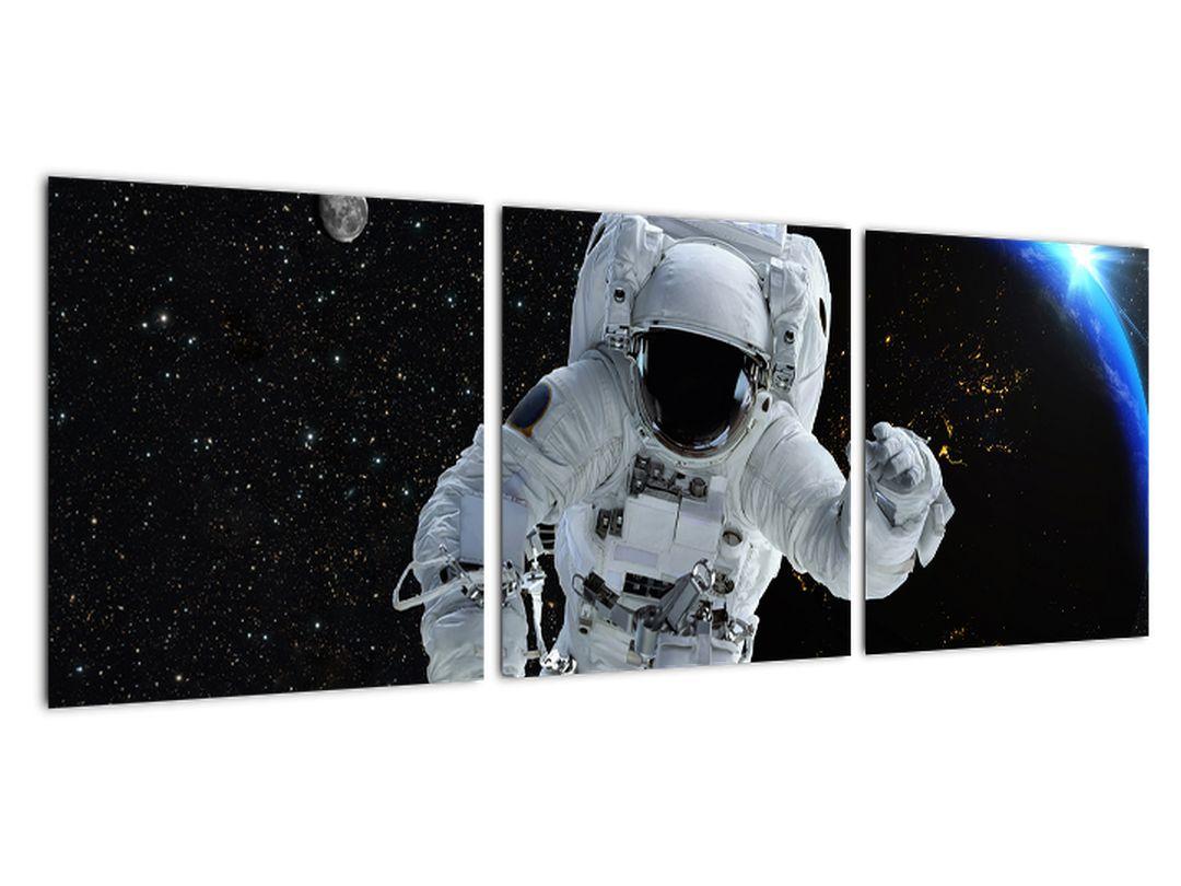 Obraz astronauta vo vesmíre