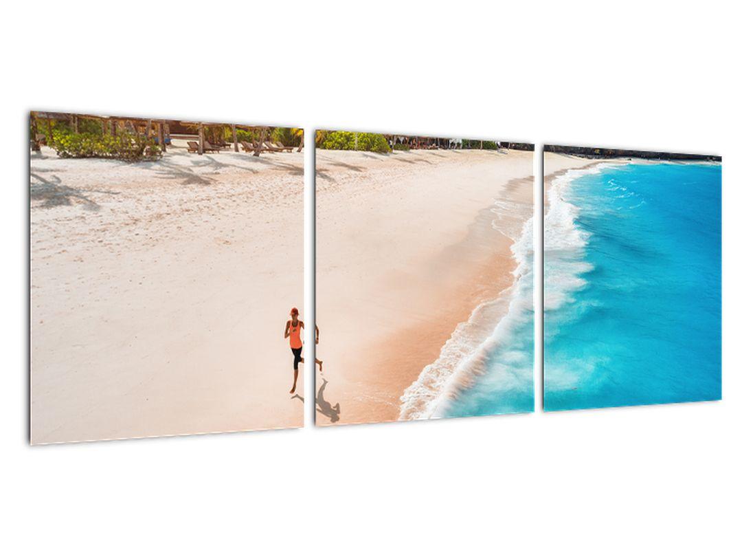 Obraz piesočné pláže - obrazy do bytu