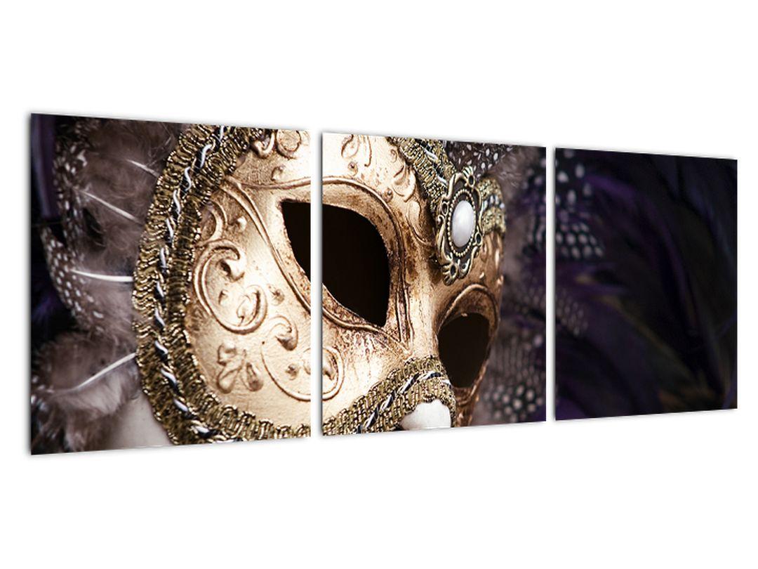 Karneval v obývačke - obraz sa symbolom Benátok
