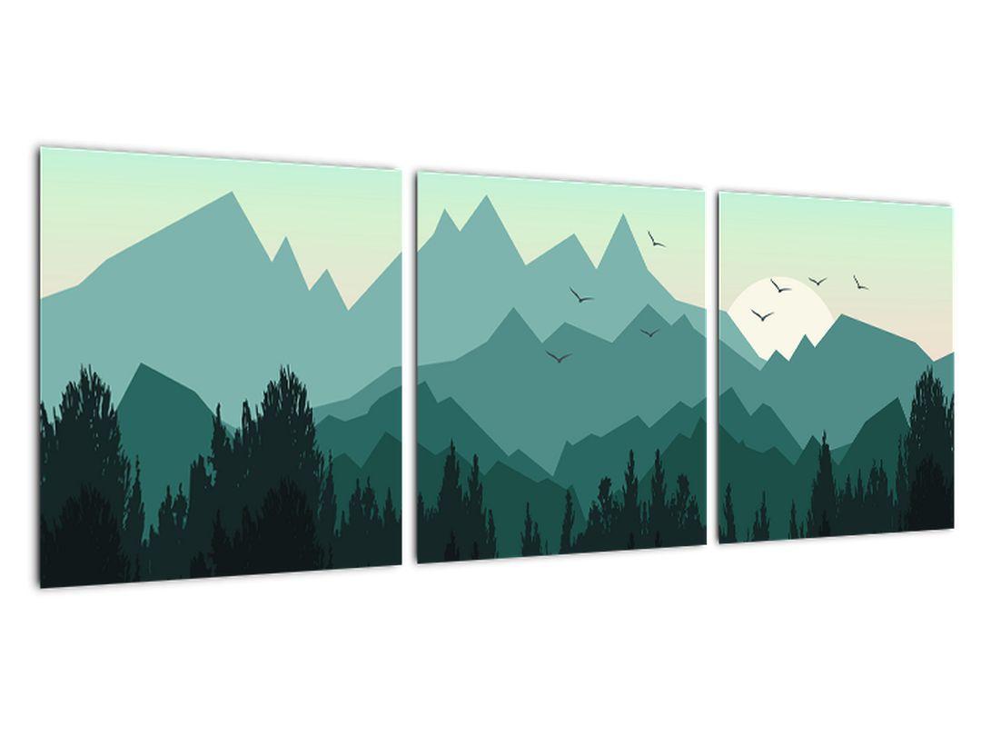 Obraz do obývačky - hory
