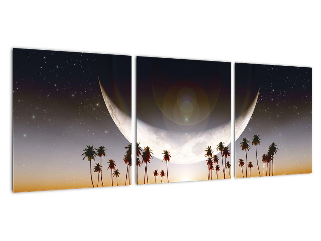 Obraz - zapadajúce mesiac