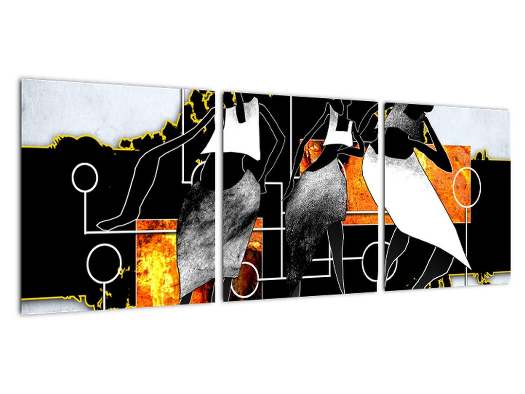 Abstrakcie - obraz na stenu