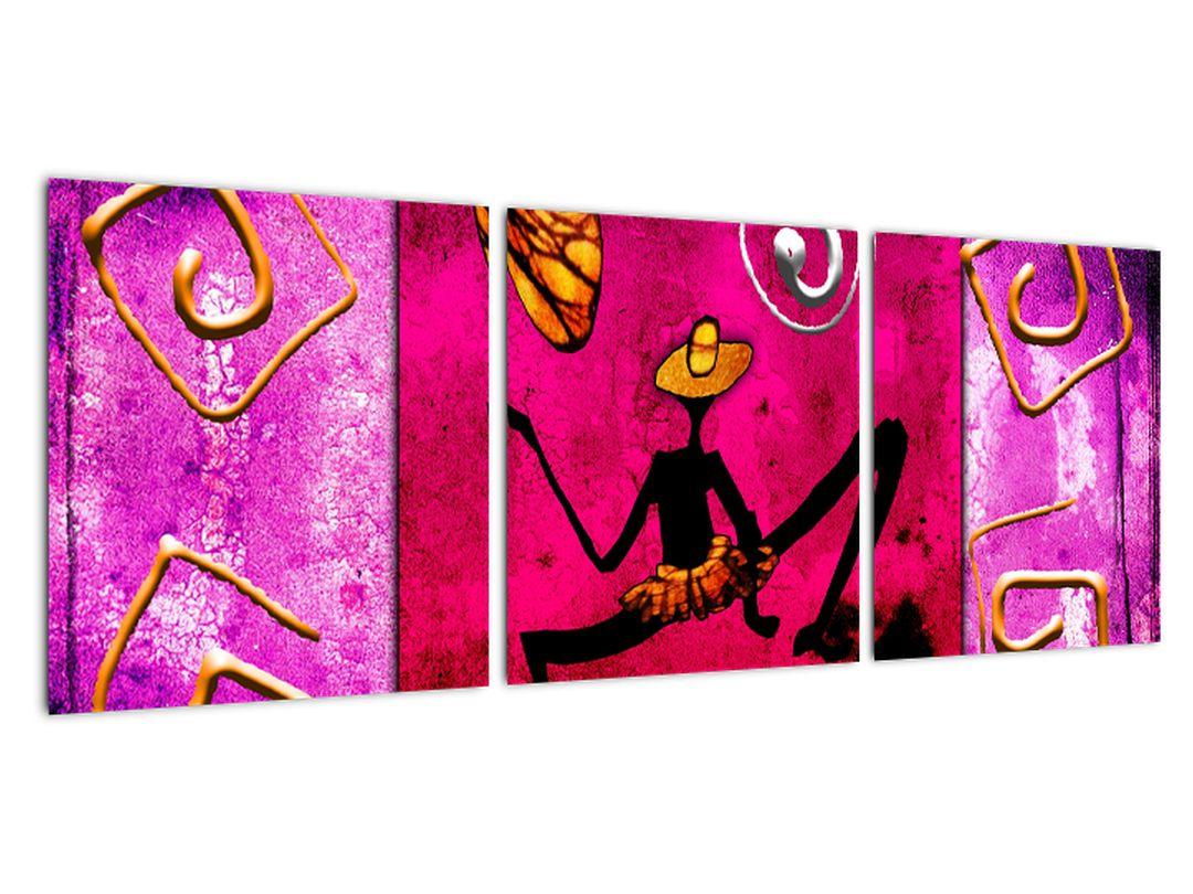 Abstraktné obrazy na stenu