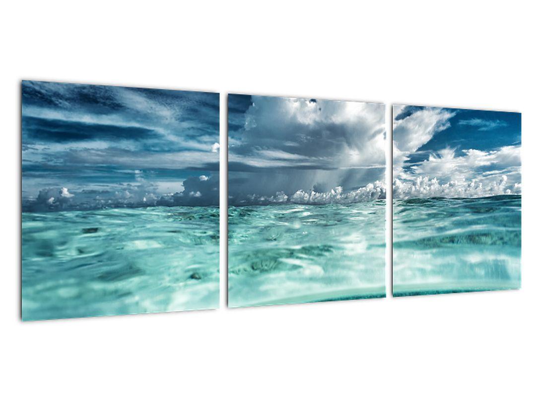 Obraz morskej hladiny a neba