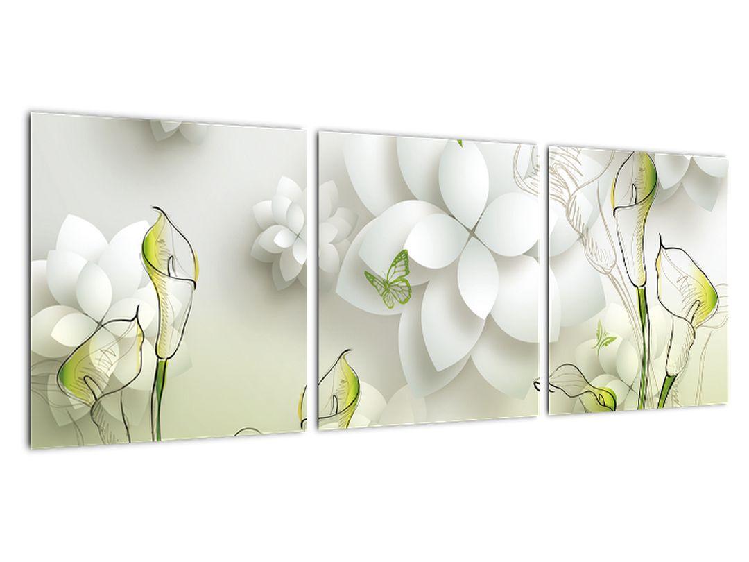 Moderný obraz - kvety