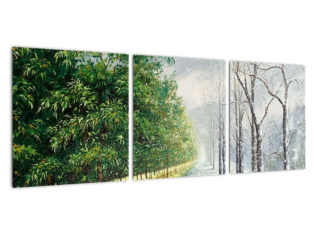 Obraz - leto a zima