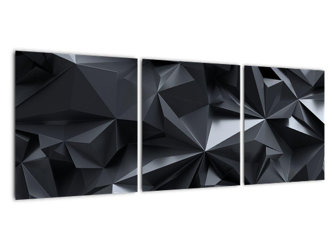 Čiernobiely obraz - abstrakcie