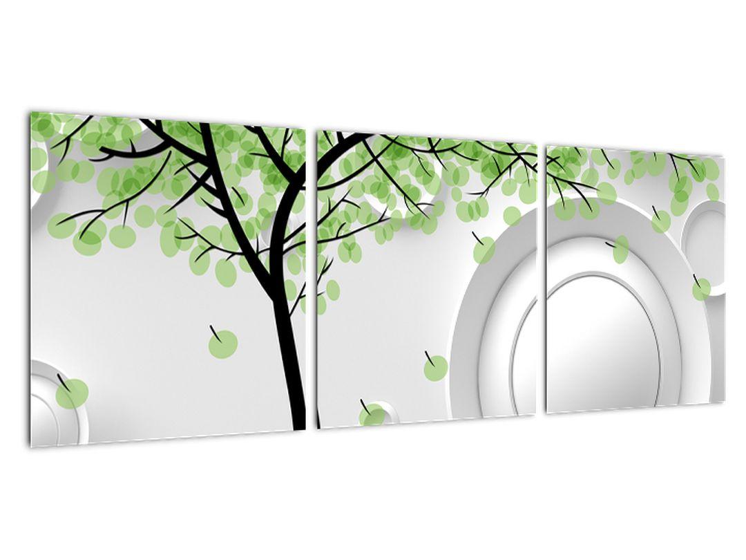 Obraz jarného stromu