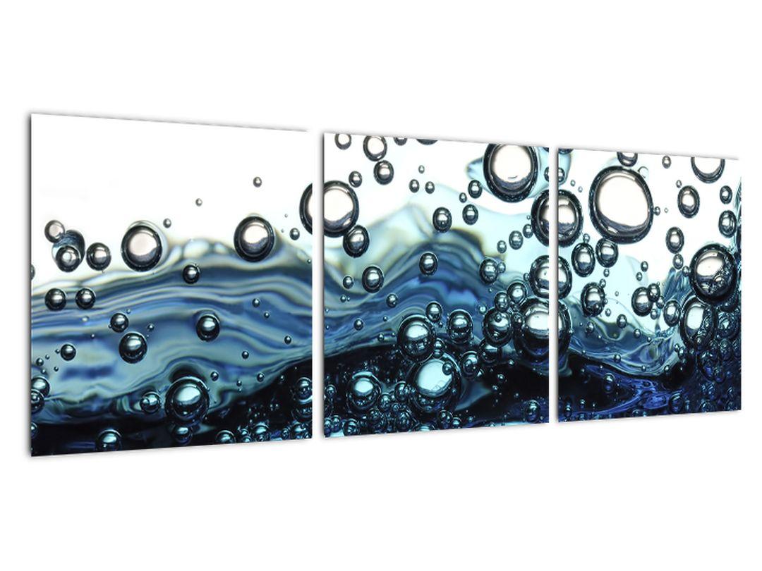Obraz vodných bublín