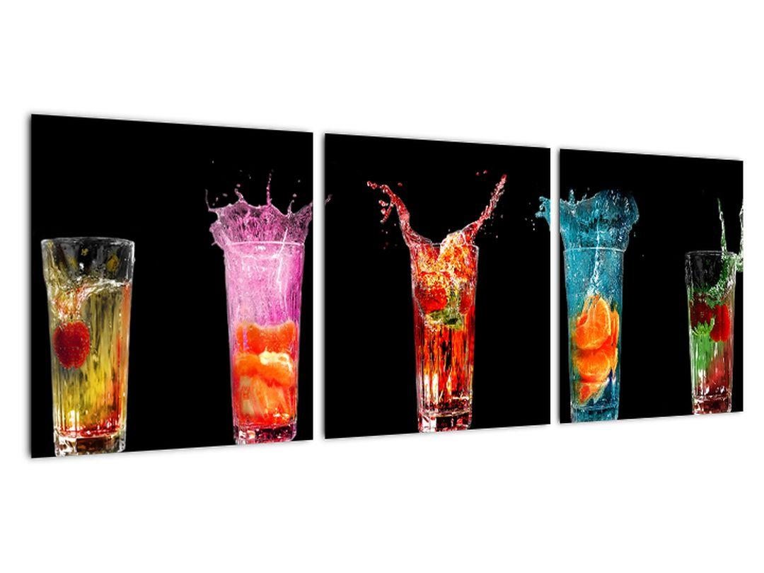 Obraz do kuchyne - letné drinky