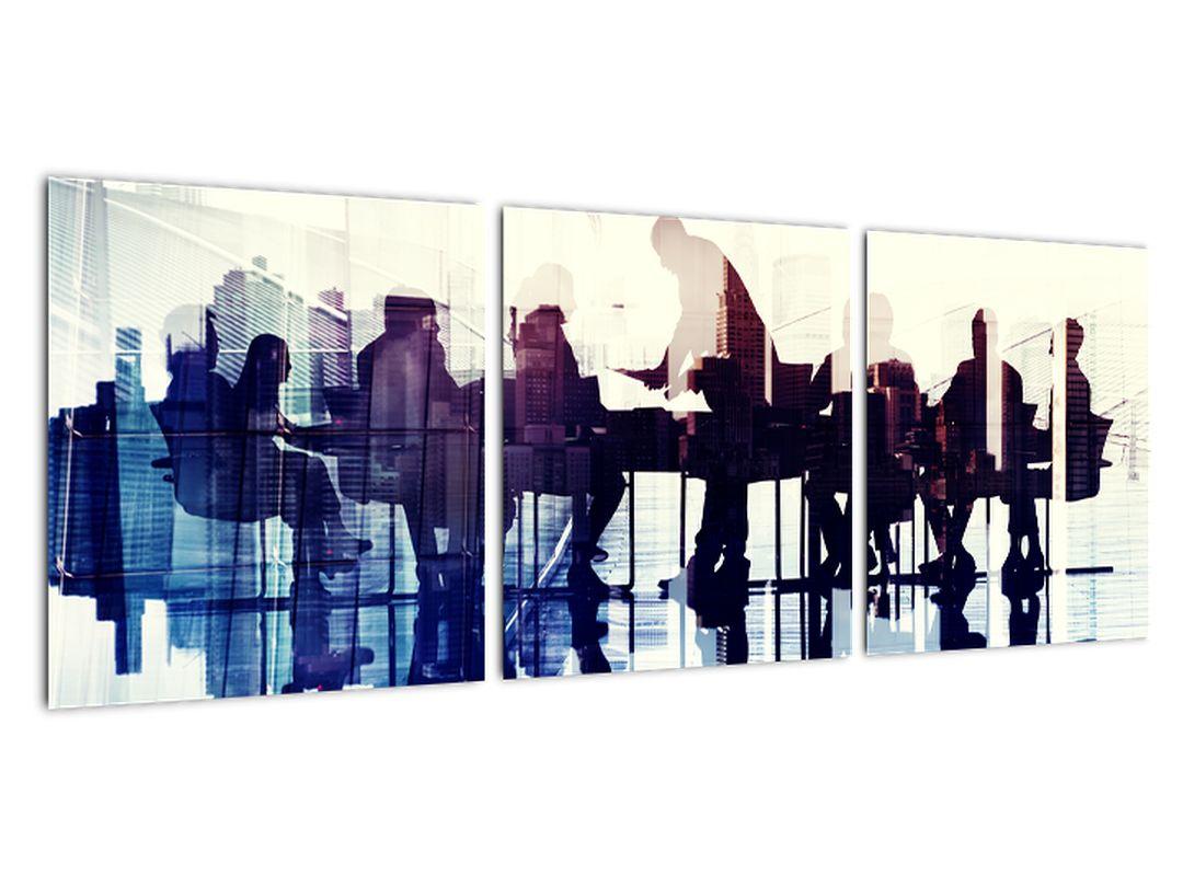 Obraz - rokovania v kancelárii