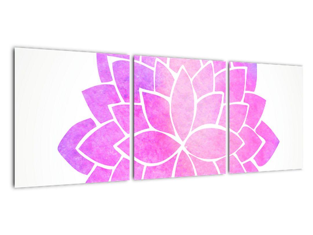 Obraz: ružová mandala