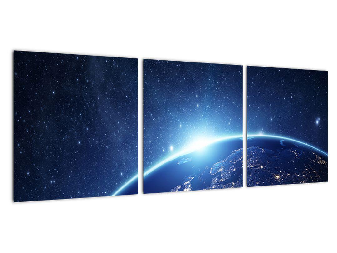Obraz planéty krajiny