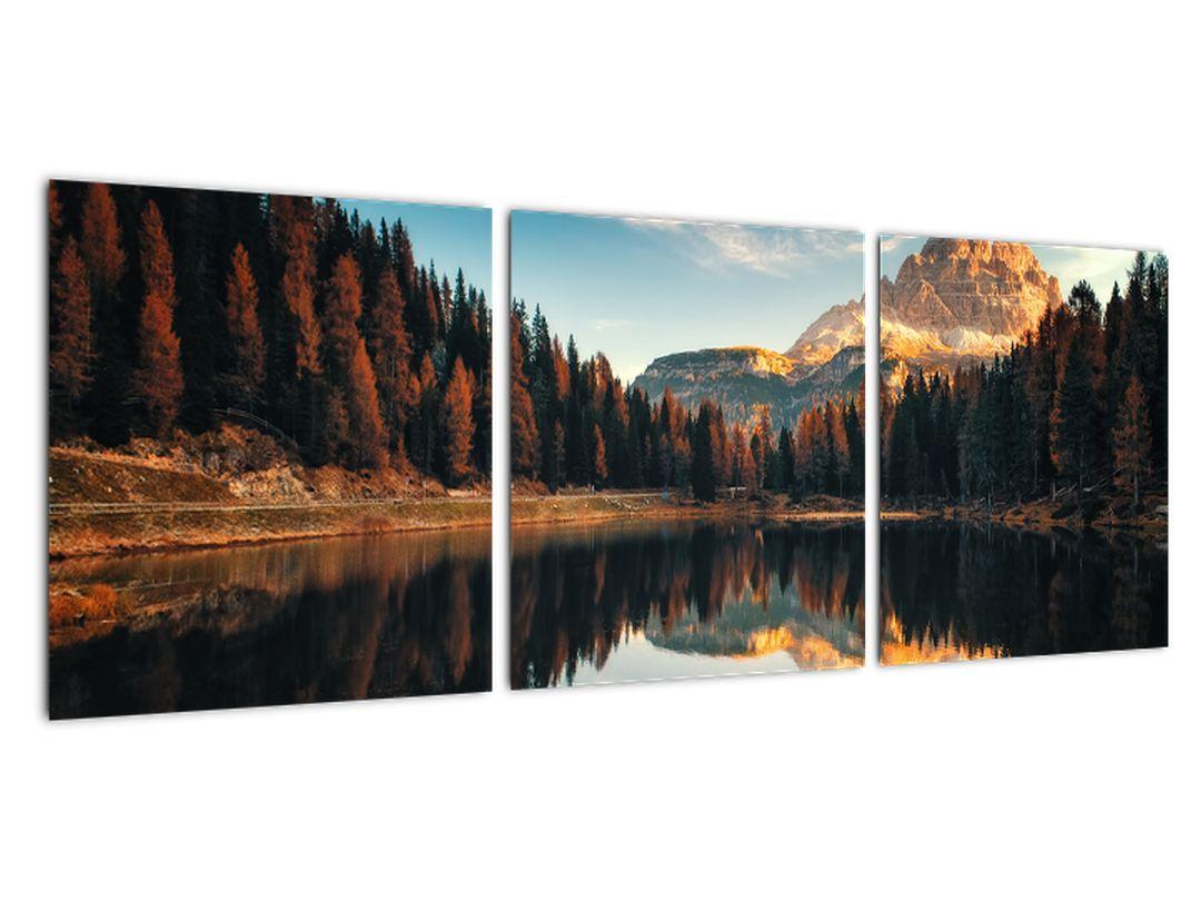 Obraz jazera