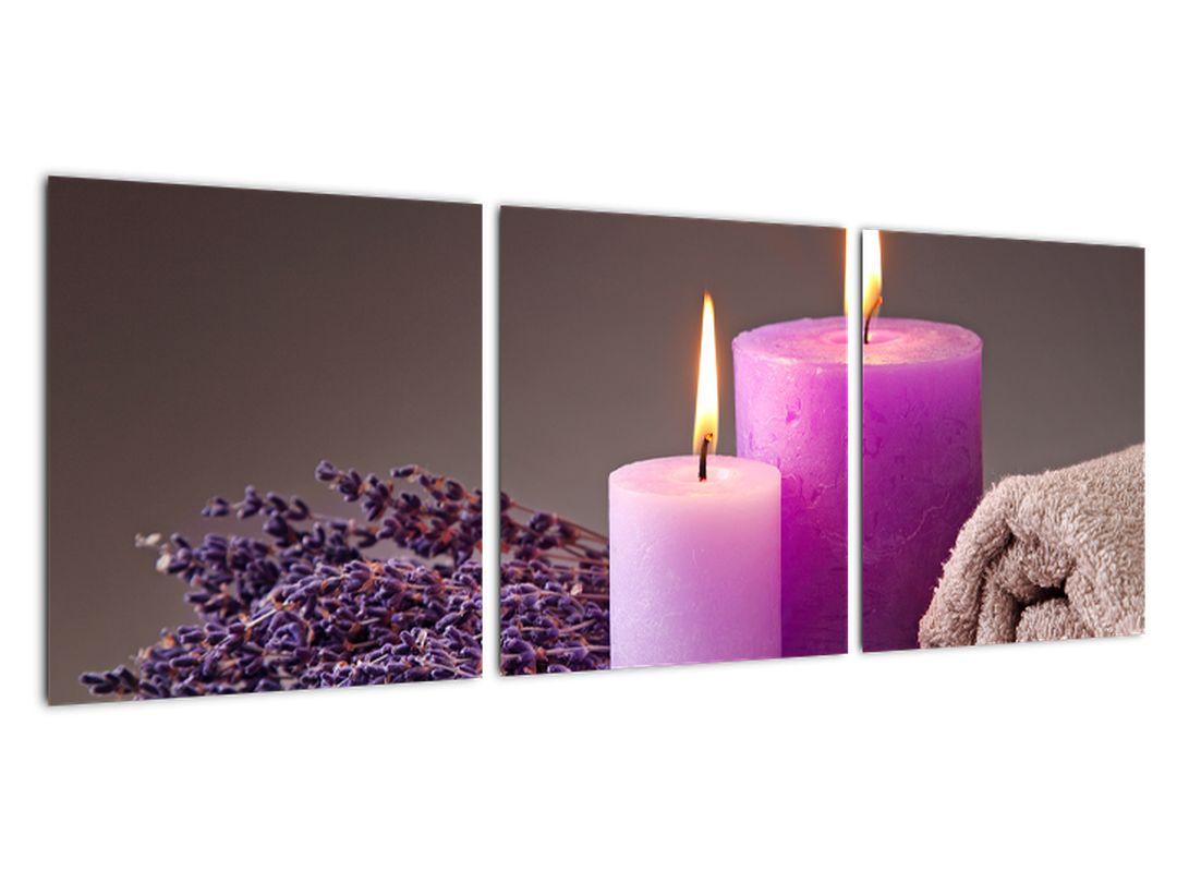Obraz - Relax, sviečky