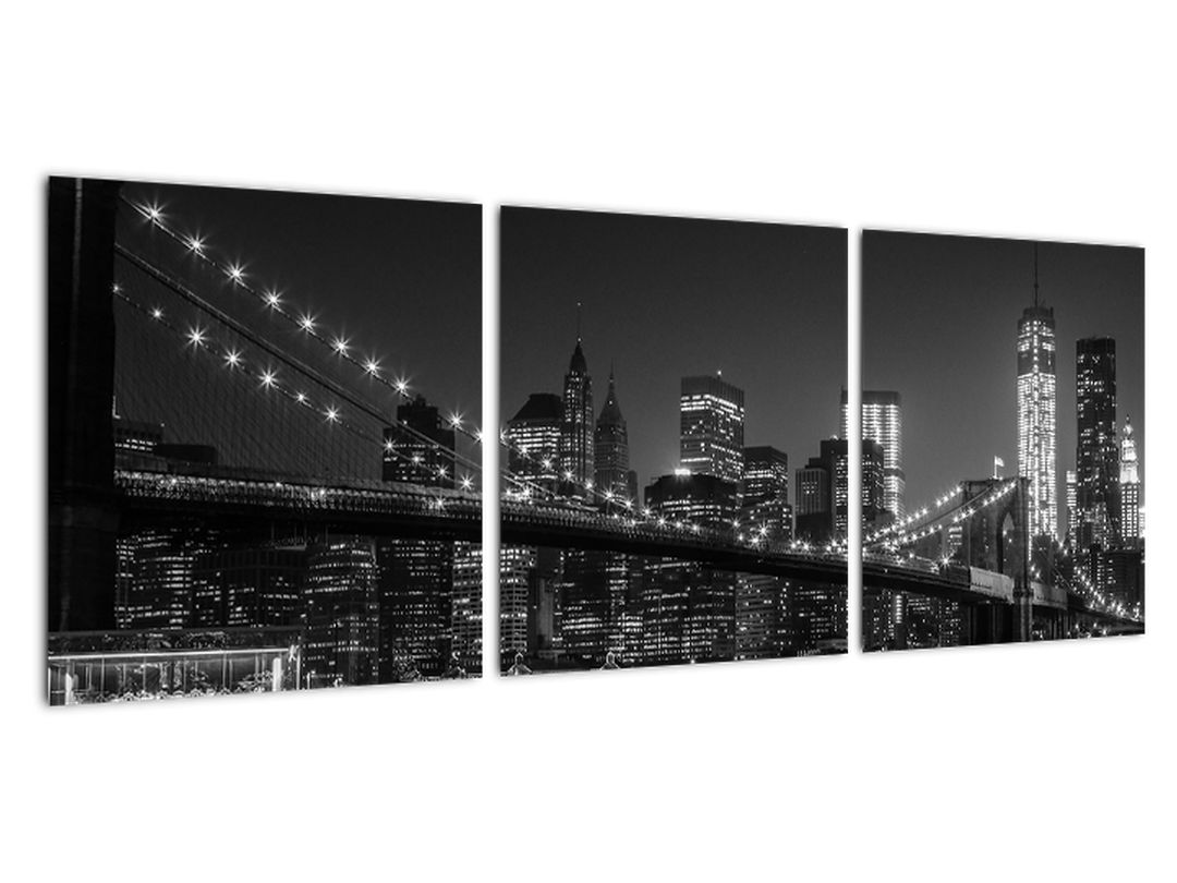 Obraz - nočné most