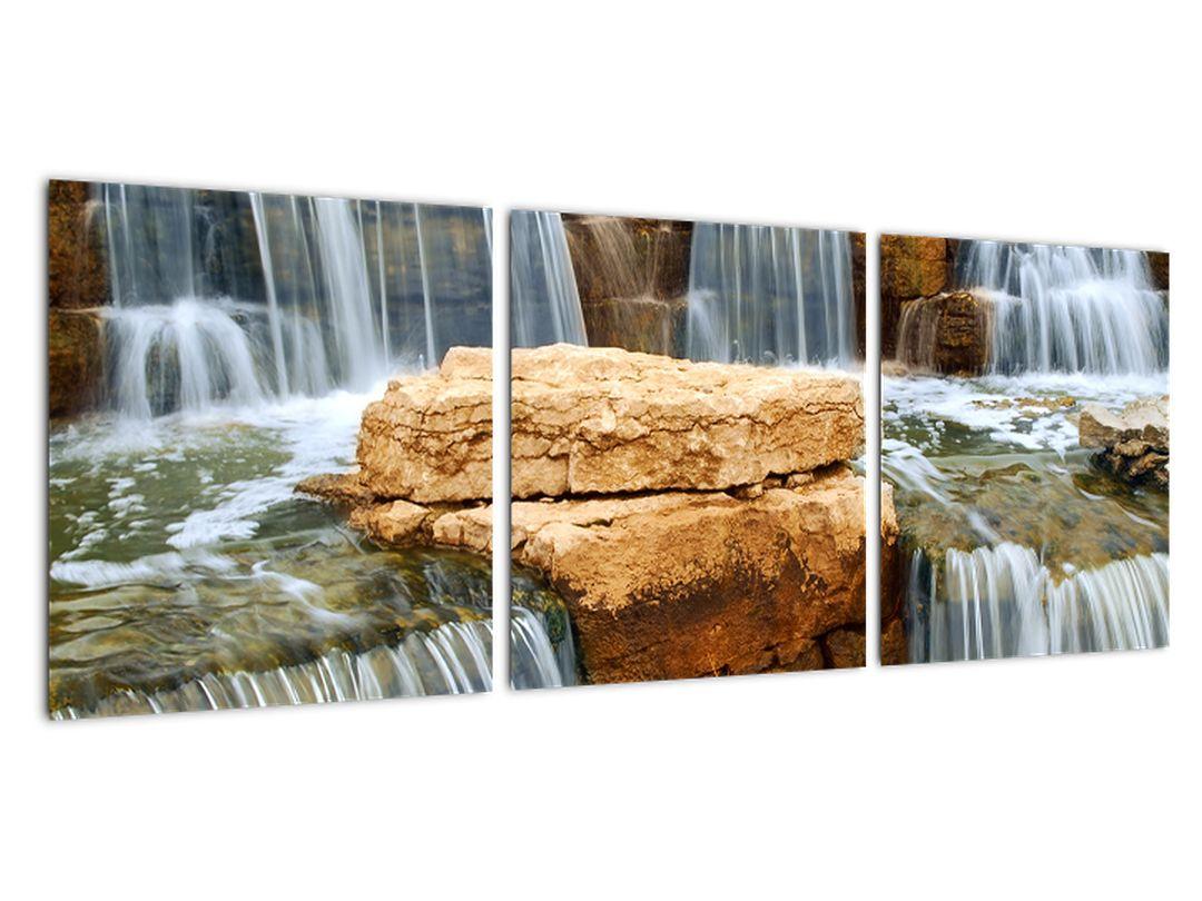 Obraz tečúcej vody