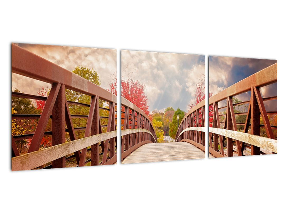Cesta cez most - obraz