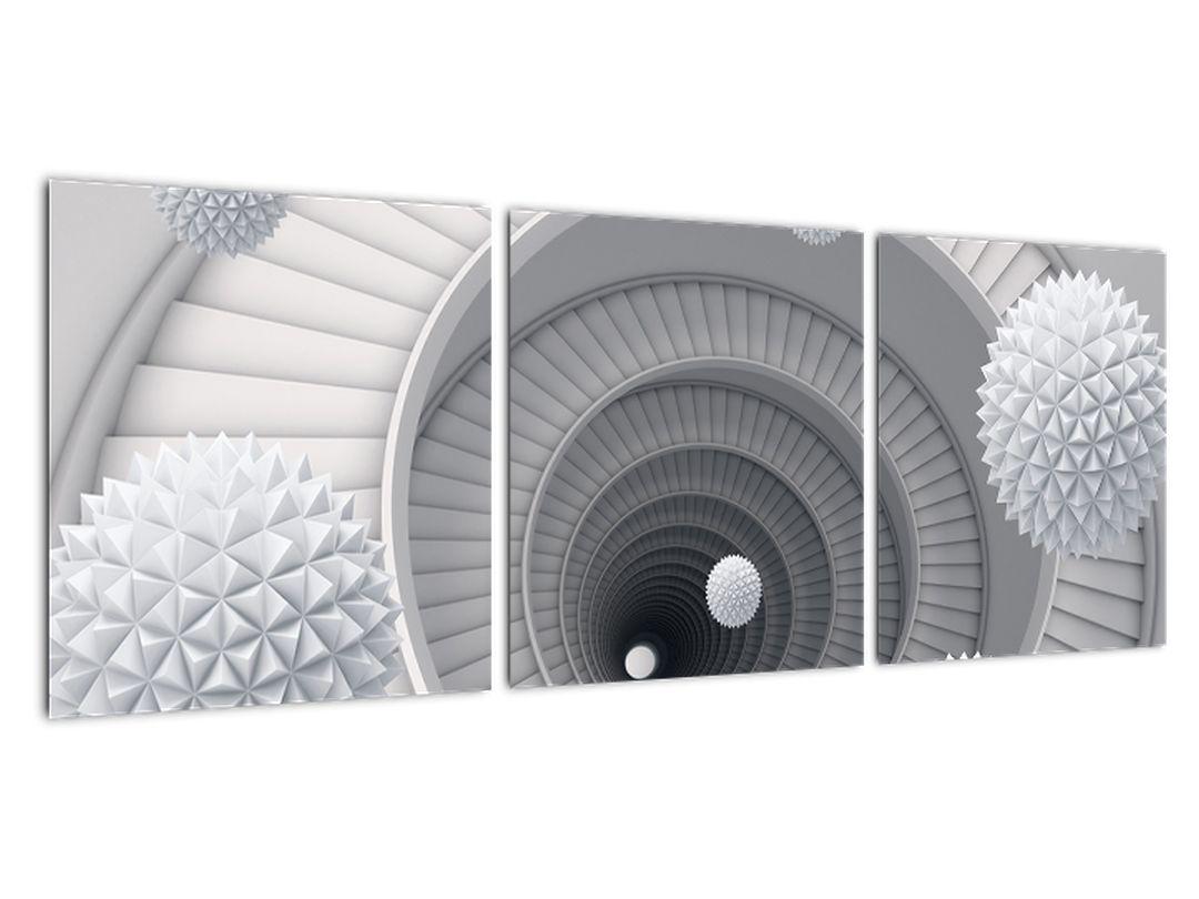 Abstraktné obrazy - schodisko