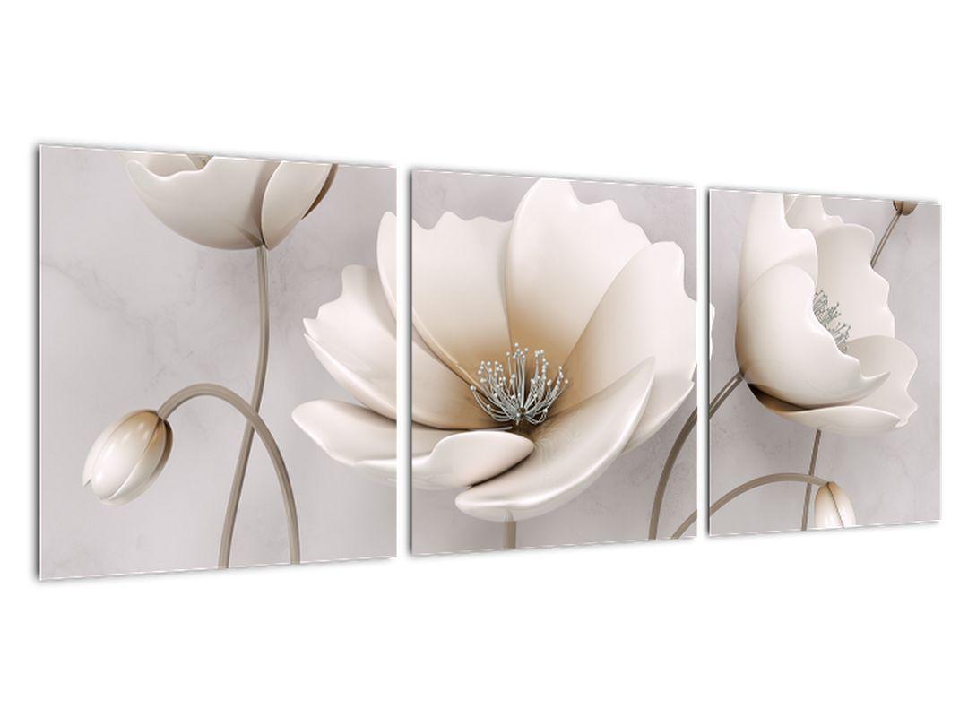 Obraz bieleho kvetu