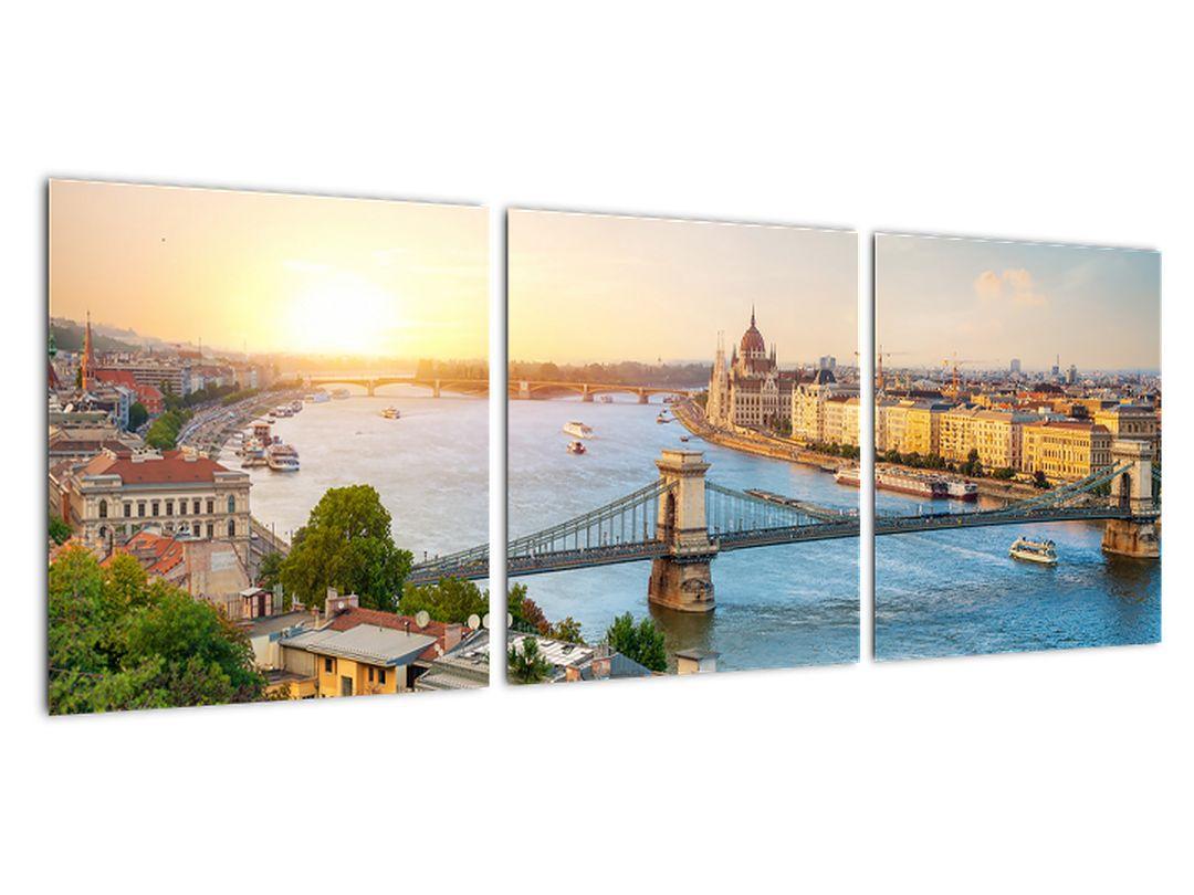 Obraz Budapešť - výhľad na rieku