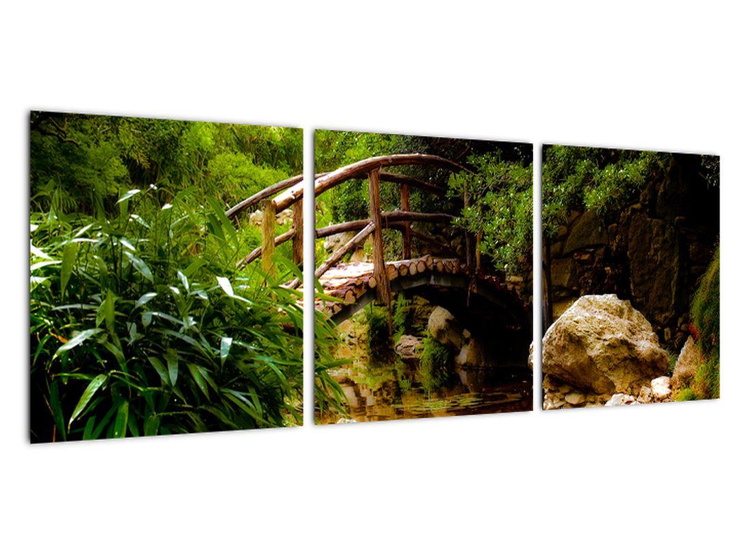 Obraz dreveného mosta