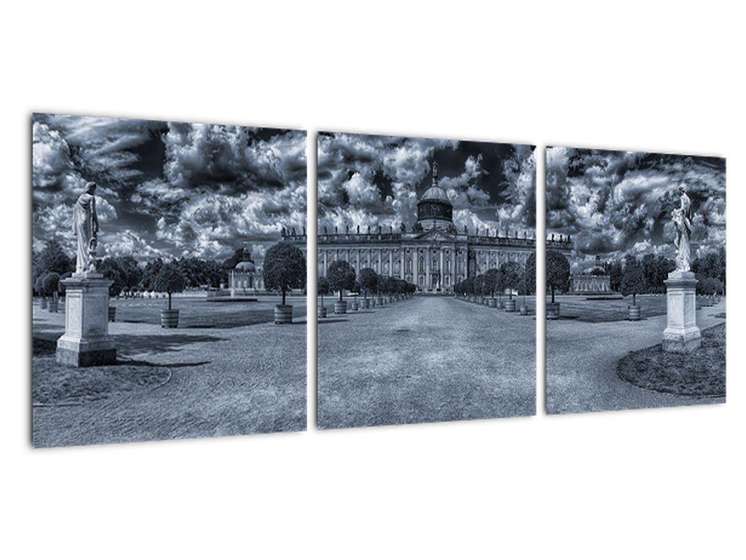 Obraz - zámocký park