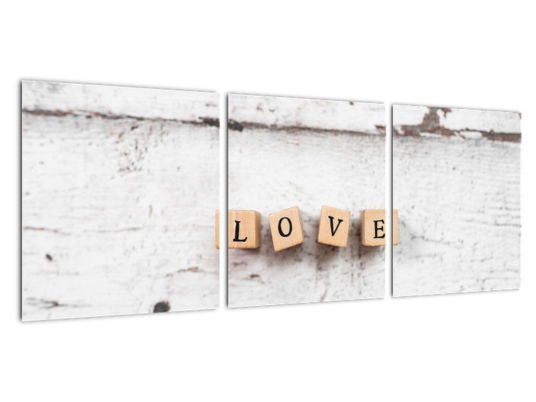 Obraz - nápis LOVE