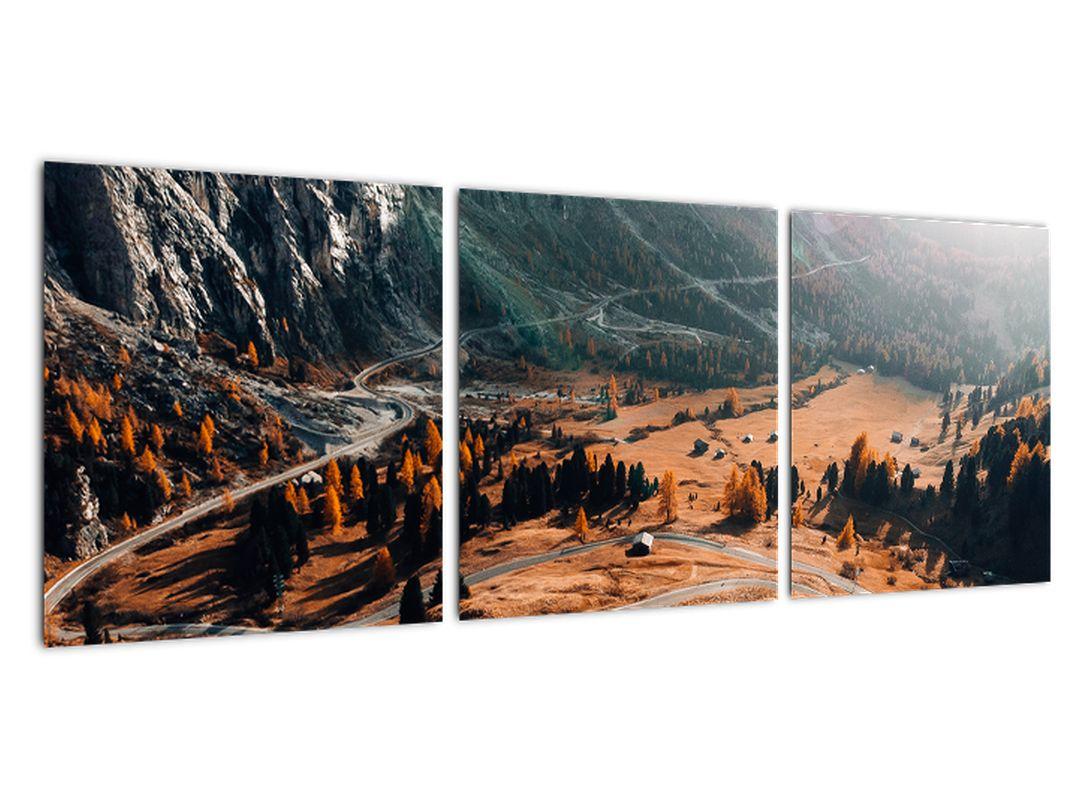 Obraz horské cesty