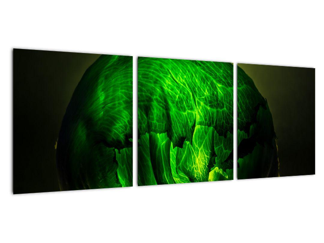 Zelená moderná abstrakcie