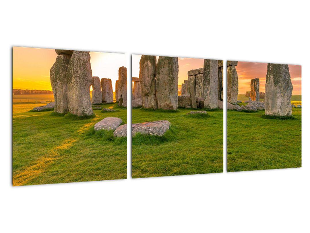 Moderný obraz - Stonehenge