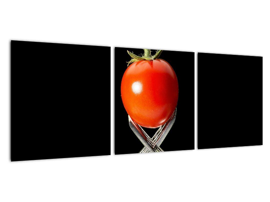 Obraz - paradajka s vidličkami