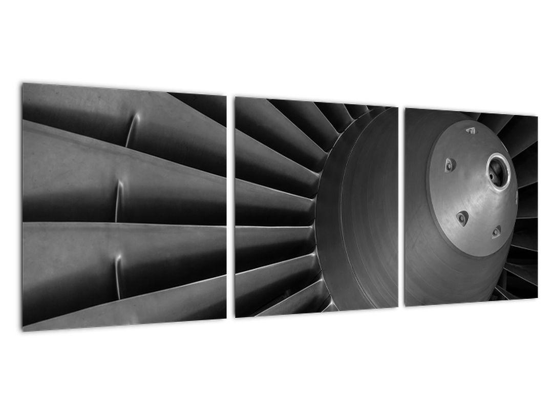 Detail turbíny - obraz