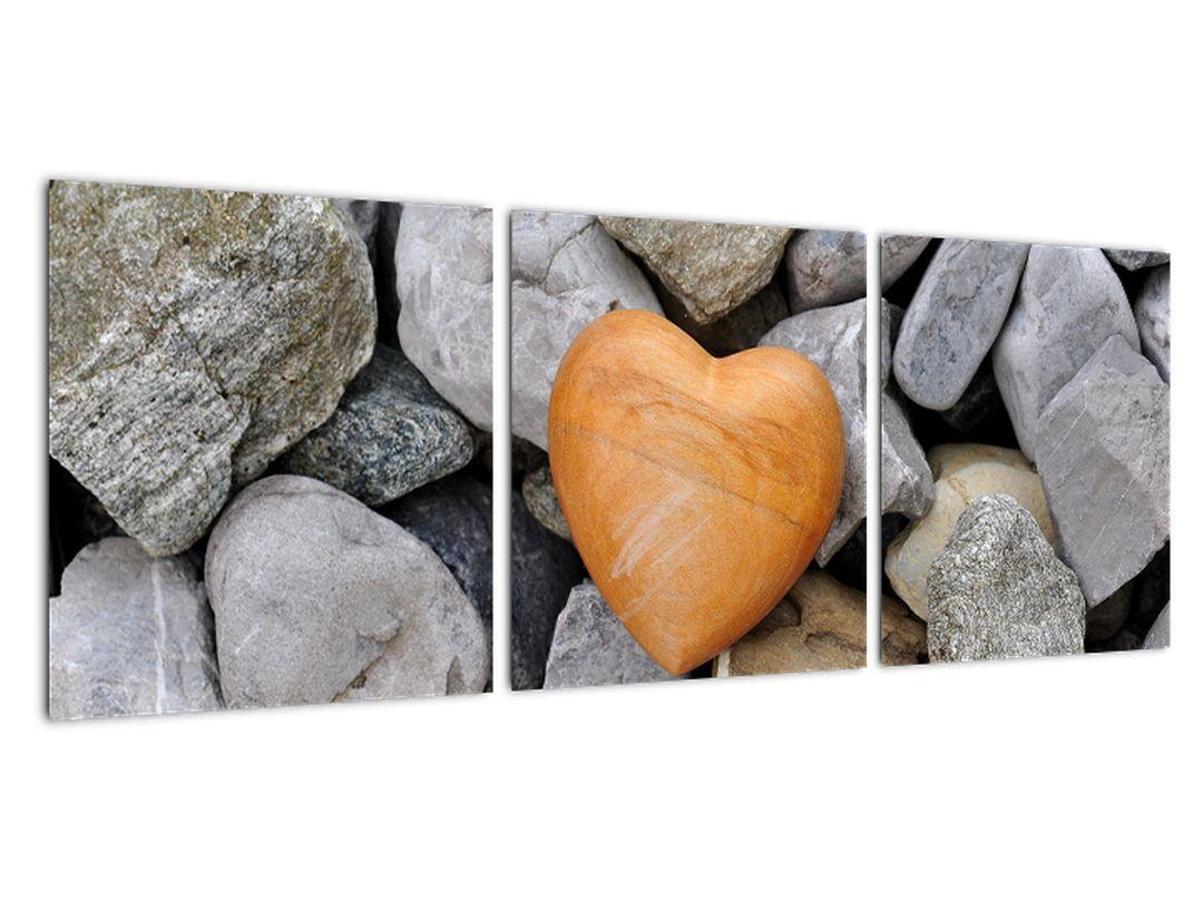 Obraz srdce - moderný obraz