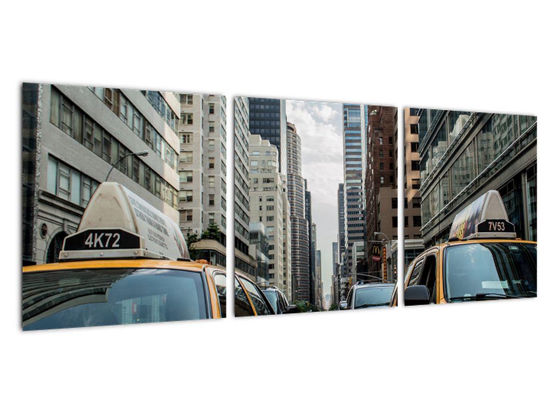 Obraz New-York - žlté taxi